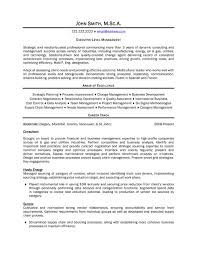 Executive Manager Resume Sample & Template