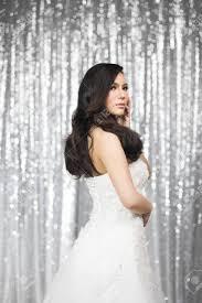 花嫁のためのブライダルの髪型結婚式に花嫁の外観