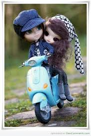 stylish cute couple dolls wallpapers