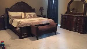 Montibello 8 piece marble top bedroom set: for sale in Garner, NC ...