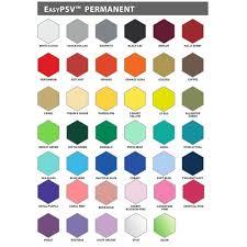Siser Color Chart Siser Easypsv Color Guide Book