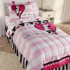 Minnie Mouse Bedroom Disney Minnie Mouse Reversible Comforter Set Home Bed Bath
