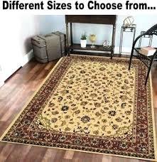 ivory fl oriental style area carpet rugs rug runners 2 3 5 7 8 8 10 rugs outdoor rugs 8 x 10