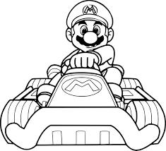 Coloriage De Mario Karte