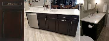 Kitchen Cabinet Espresso Color Wholesale Kitchen Bath Cabinets In Chocolate Finish Jk