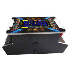 Cocktail Arcade Cabinet Kit New Retrocade Table Top Arcade Game Machine Classic Video 60 In 1