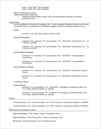 Resume Outline Template for Word DOC. Creating the best ...