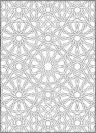 Mosaic Coloring Pages Flower Mosaic Colouring Pages Islamic Mosaic