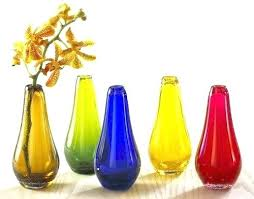 colored glass vase colored glass vases item colored glass vase set vases home furnishings the museum