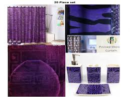 Zebra Bathroom Rug Bathroom Shower Curtains And Rug Sets