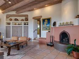 Terracotta Living Room Living Room With Sunken Living Room Terracotta Tile Floors