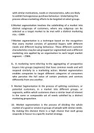 market segmentation doc 7