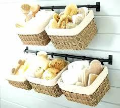 Bathroom wall storage baskets Tier Basket Stand Related Post 360viewinfo Bathroom Wall Storage Baskets Bathroom Shelves With Baskets Bathroom