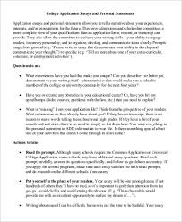 exle college essays