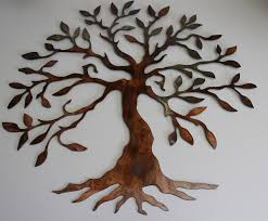 >olive tree tree of life metal wall art