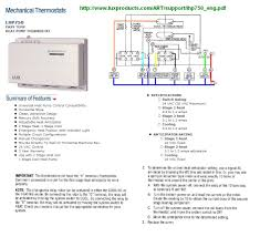 replacing a heat pump thermostat 8 wire doityourself com i would recommend the old baystat over your new lux stat