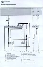 index to wiring diagrams audi 100 200 type 44 chassis electric mirrors