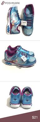 Elmo Light Up Shoes Disney Frozen Girls 2 Light Up Sneakers Nwt Shoes Brand