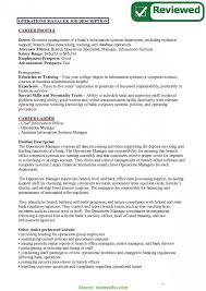 Job Descriptions For Operations Manager Revive210618 Com