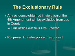 Independent SourceFruit Of Poisonous Tree Doctrine Definition