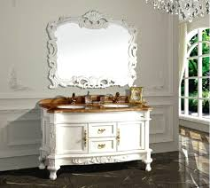 white bathroom vanity mirrors. F Contemporary White Bathroom Vanity Mirror Ideas With Decorative Art Carving Frames And Cool Double Round Mirrors B