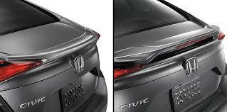 factory accessory decklid spoiler spoiler for 2016 civic sedan decklid mid spoiler 2016 civic jpg