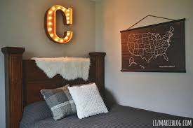 Wall art lighting ideas Decoration Marquee Letter Used As Wall Art Above Bed Headboard Aliwaqas Design Ideas Marquee Letter Used As Wall Art Above Bed Headboard