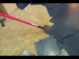how to remove a vinyl floor and plywood suloor this old house you