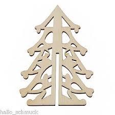 Hs 3 Natur Holz Hohl Tannenbaum Baumschmuck
