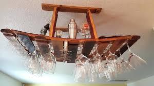 wine glass rack stemware rack best of a handmade wine barrel hanging wine glass rack made wine glass rack