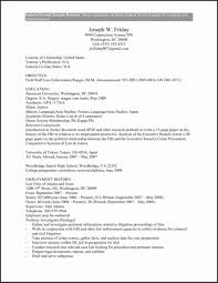 Usajobs Resume Sample Resume Templates Federal Government Resume Template 60 27