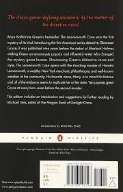 The Leavenworth Case (Penguin Classics): Green, Anna Katharine, Sims,  Michael: 9780143106128: Amazon.com: Books