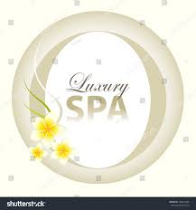 Spa Background Design Luxury Spa Background Design Stock Vector Royalty Free