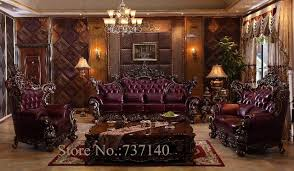 furniture high end. Sofa Set Living Room Furniture Luxury Genuine Leather French High End