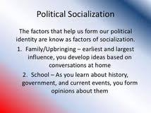 political socialization essay thesis publishers in agents of political socialization essay