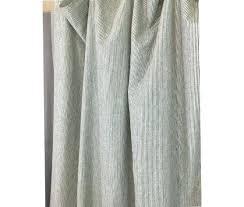 ticking stripe curtains subtle black and white ticking striped linen shower curtain john lewis blue ticking stripe curtains