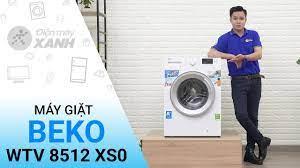 Máy giặt Beko Inverter 8 kg WTV 8512 XS0, giá rẻ, chính hãng