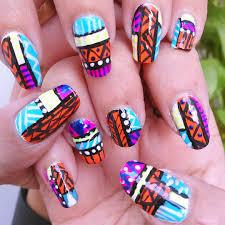 30 Tribal Nail Art Designs Idea Design Trend Premium Psd Vector ...