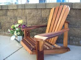 cedar adirondack chairs western red wooden vermont