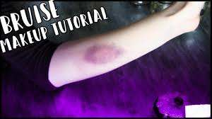 how to create fake bruises with