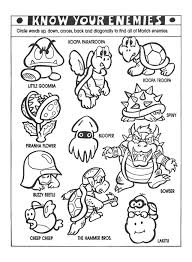 Small Picture nintendo power Colouring Pages Classic Video Game Party