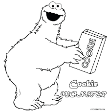 Printable Monster Coloring Pages Simple Printable Monster Coloring