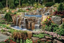 Small Picture Backyard Waterfall Ideas Backyard Landscape Design