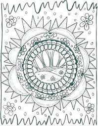 Coloring Pages Trippy Unique Coloring Pages Page Psychedelic For