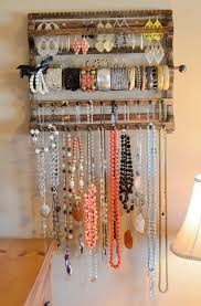 Jewelry Organizer Diy Diy Jewelry Organizer Ideas Home Design Ideas