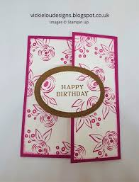 Fancy Designs For Cards Vickie Lou Designs Berry Burst Perennial Birthday Fancy