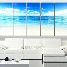 beach wall art canvas large wall art blue sea landscape and beach wall art canvas 5 on beach themed canvas wall art australia with beach wall art canvas large wall art blue sea landscape and beach