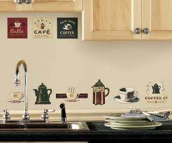 Peel And Stick Wall Decor Coffee Break Wooden Cafe Kitchen Wall Art By Littlestoreofhomedec
