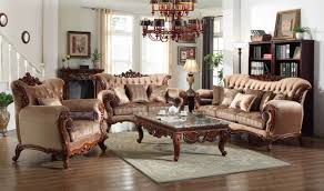 Traditional Living Room Sets 605 Bordeaux Traditional Living Room Set In Rich Cherry By