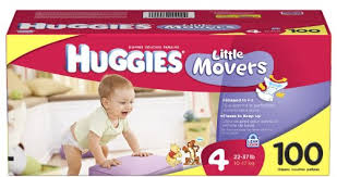 Pampers Size Chart Huggies Little Movers Diapers Size 4